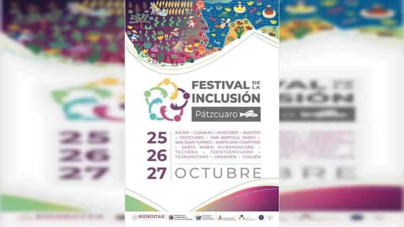 En Pátzcuaro, el Primer Festival de la Inclusión