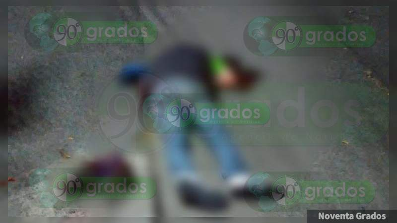 Ultiman a tiros a un individuo en Morelia, Michoacán