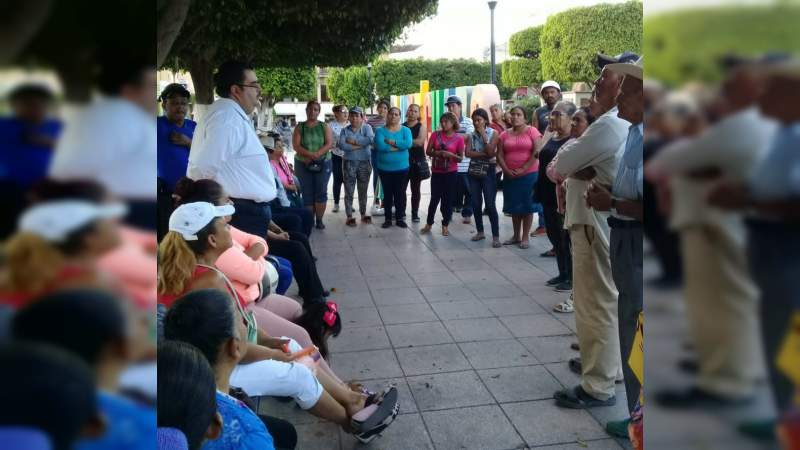 En Yurécuaro, Antorcha pide solución a las demandas populares