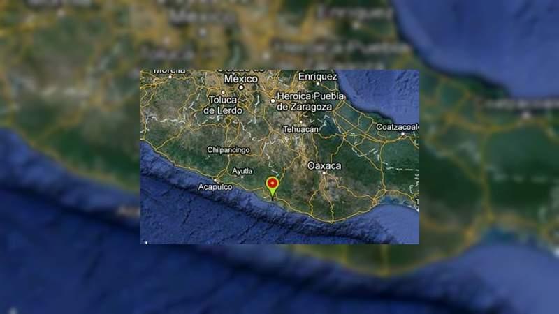 Dos sismos sacuden a Oaxaca