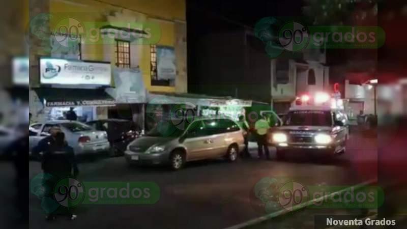 Muere niña tras caerle barda encima en Morelia, Michoacán