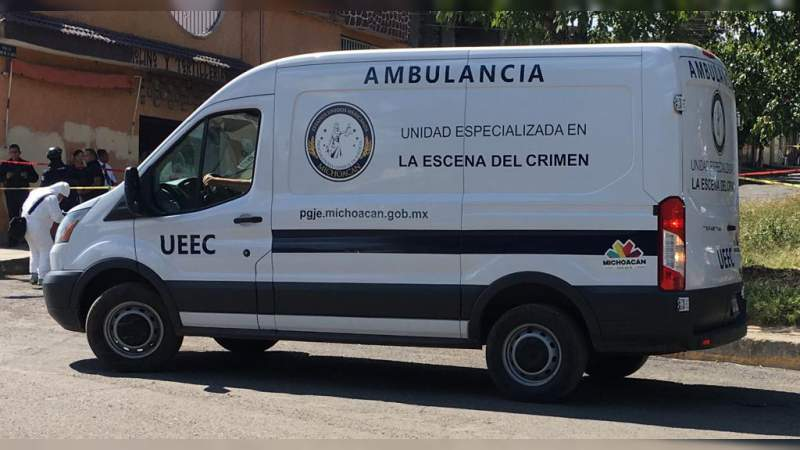 Asesinan a dos personas en Pátzcuaro, Michoacán