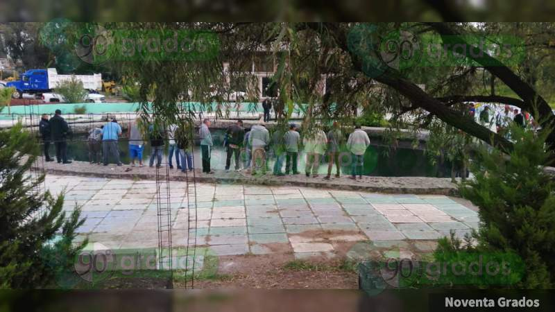 Hallan a persona ahogada en Maravatío, Michoacán