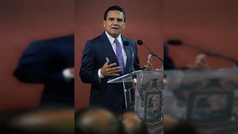 """""""No hagamos más dramas de un hecho doloroso"""": Silvano Aureoles"""
