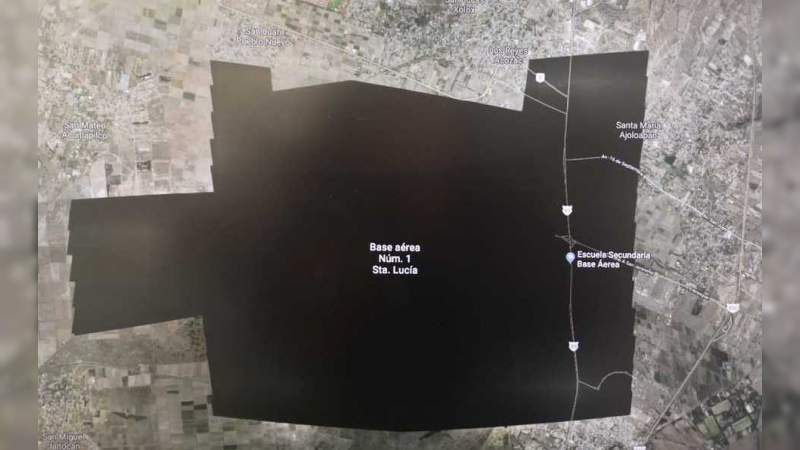 ¿Por qué desapareció Santa Lucía de los mapas de Google?