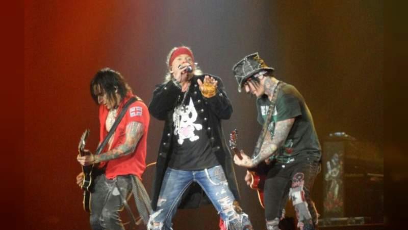 Sancionan a organizadores del concierto de Guns N Roses en Guadalajara
