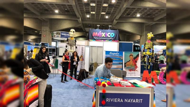 Regresa Michoacán a la SITV Feria Internacional de Turismo y Viajes, en Canadá