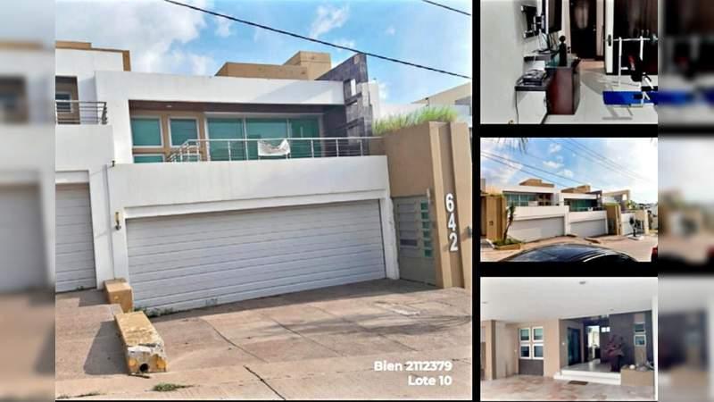 Subastan propiedades del Chapo Guzmán, incluida casa con túnel