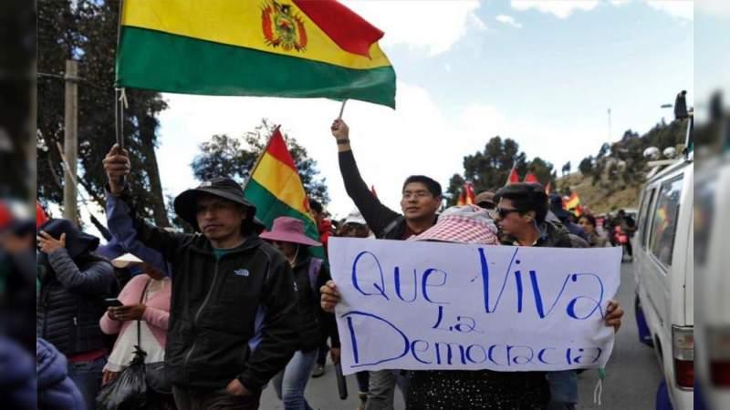 Futura Presidenta Interina de Bolivia anuncia que convocará a elecciones