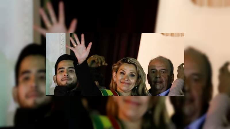 Los mexicanos me dan pena: Presidenta de Bolivia