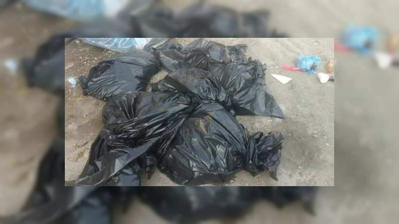 Embolsados, hallan restos de cinco mujeres y siete hombres en Tlajomulco, Jalisco