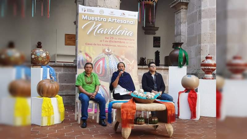 Se incorpora IAM al Buen Fin y anuncia la Muestra Artesanal Navideña