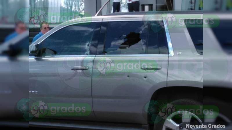 Identifican a hombre baleado en Morelia, Michoacán