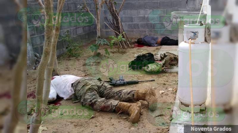 México: Enfrentamientos entre delincuentes y militares deja al menos 7 fallecidos