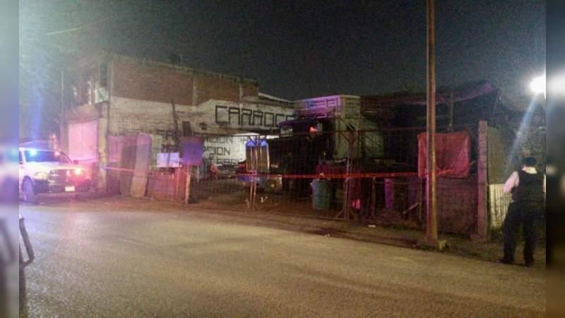 Morelia, Michoacán: Muere hombre tras ser baleado