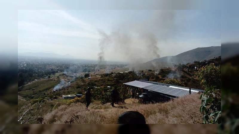Disputa por tierras en Oaxaca deja un muerto y una comunidad quemada