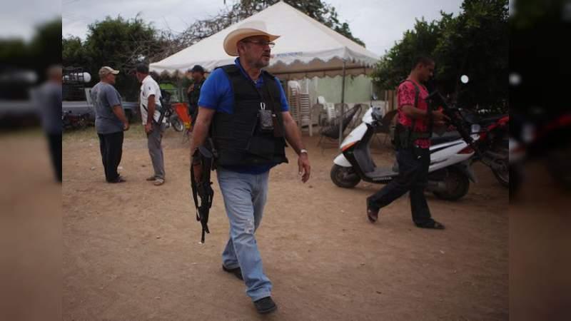 Anuncia Hipólito Mora que marchará con Javier Sicilia a Palacio Nacional