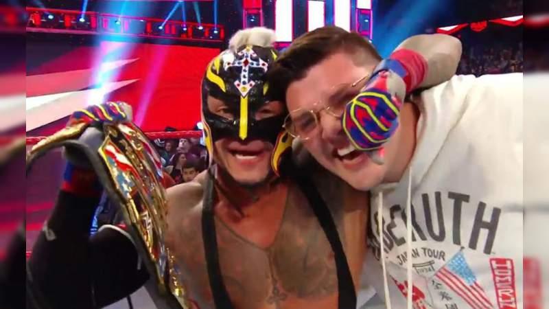 Rey Mysterio se convierte en Campeón de los Estados Unidos