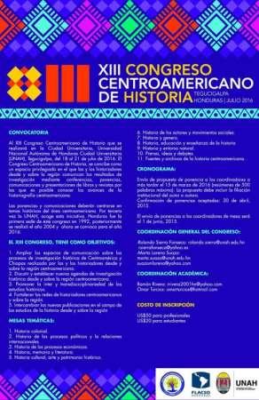 Nicolaitas pueden participar en el XIII Congreso Centroamericano de Historia