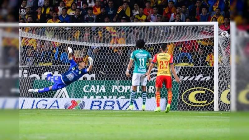 Monarcas y León empatan 3 – 3 en el estadio Morelos