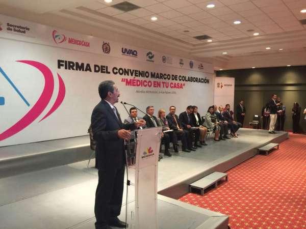 Salud y Educación, derechos fundamentales de los ciudadanos: Medardo Serna
