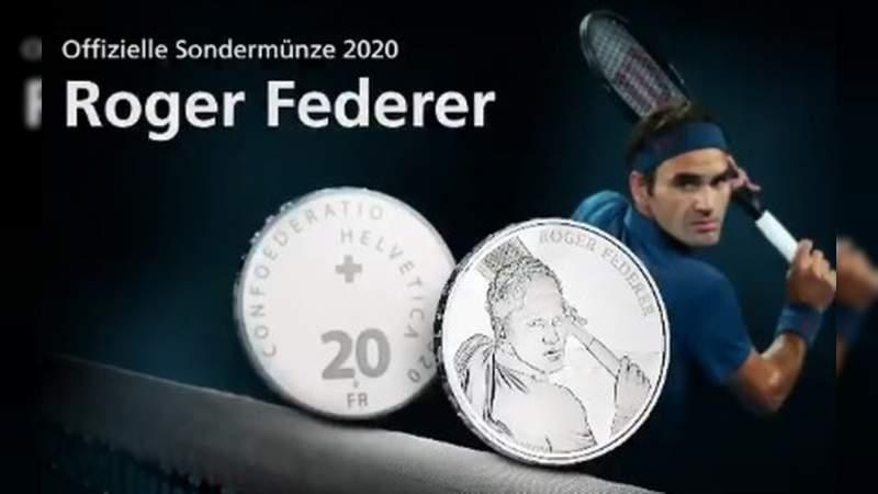 Roger Federer tendrá su propia moneda en Suiza