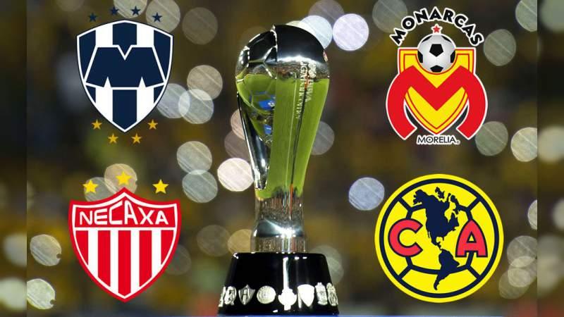 Listos los días y horarios de las Semifinales de la Liga MX