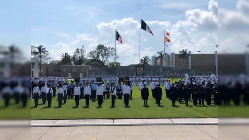Banda de Guerra de la UMSNH obtiene segundo lugar en Concurso Nacional