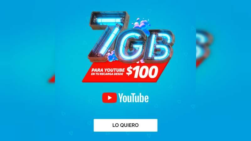 AT&T regalará 7GB en sus recargas desde 100 pesos