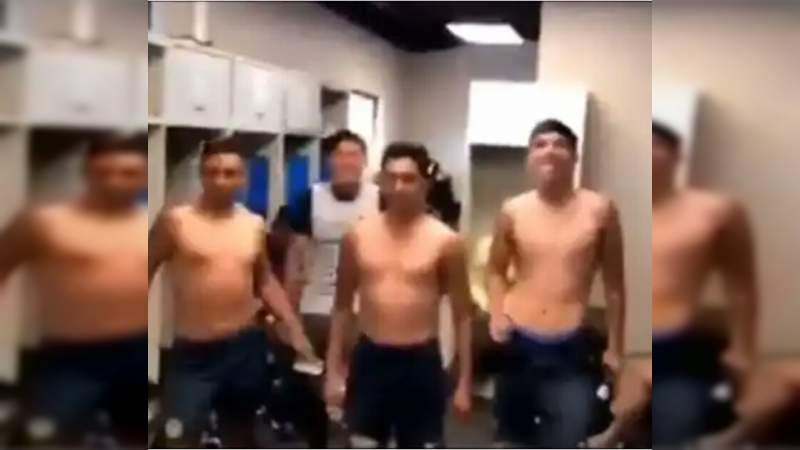 Jugadores del América Sub-17 bailan el himno feminista