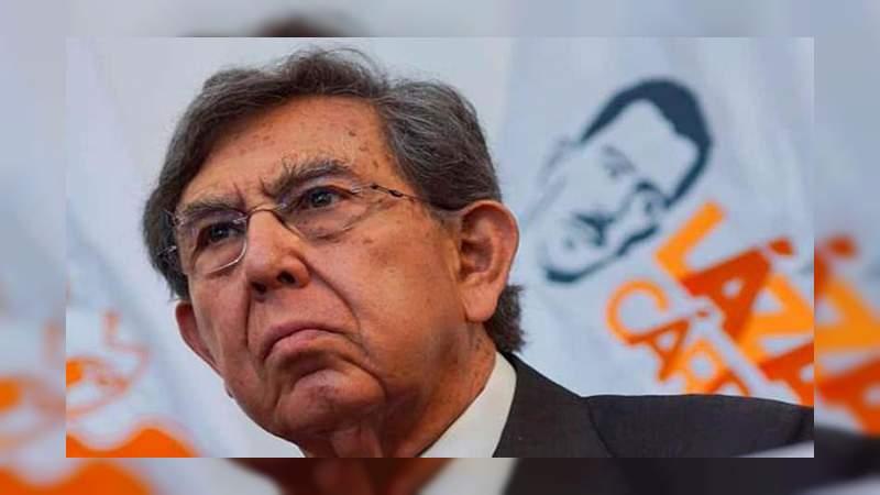 Cuauhtémoc Cárdenas piensa que con AMLO México tiene otro sexenio perdido