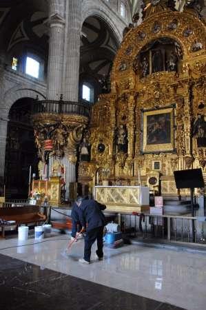 Catedral Metropolitana estará lista para recibir al Papa Francisco: Tovar y de Teresa