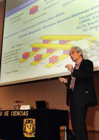 México debe promover la investigación que lleva al desarrollo, dice el ganador del Nobel de Física 2007
