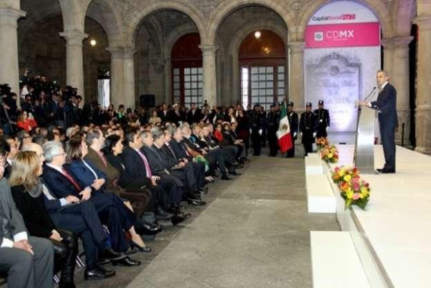 Presenta Miguel Ángel Mancera grupo de trabajo para elaborar proyecto de Constitución de la Ciudad de México