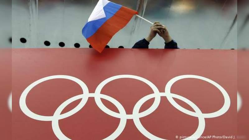 Suspenden a Rusia de Juegos Olímpicos y Mundial de Fútbol