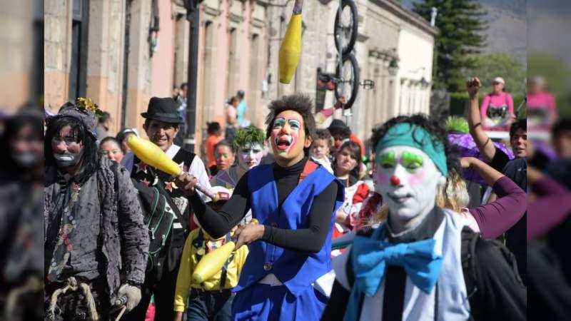 Entre risas y alegría, morelianos disfrutan del Día Mundial del Payaso