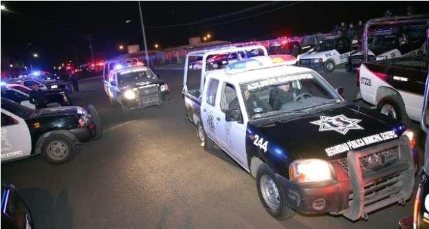 Más de 10 mil policías vigilarán Ecatepec durante visita papal