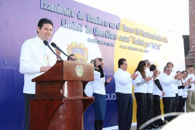 Busca Alfonso Martínez que Morelia sea Ciudad de Paz