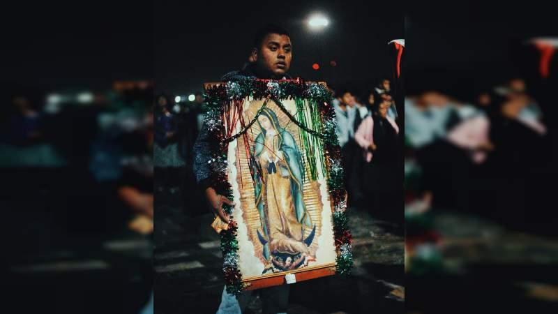 Continúa arribo de peregrinos a la Basílica de Guadalupe