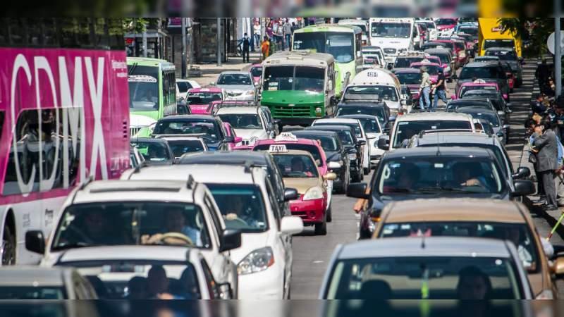 Hoy no circulan autos con holograma 2 o 1 y placa par, en el Valle de México