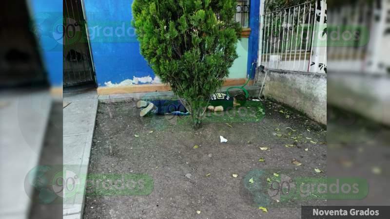 Balean y matan a un hombre en Zamora, Michoacán