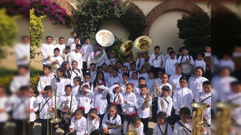 """Roban instrumentos de filarmónica de niños mixe en Oaxaca: """"Se llevaron nuestra alma"""""""