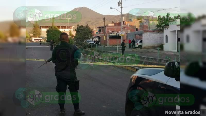 Asesinan a hombre a balazos en fraccionamiento de Zamora, Michoacán