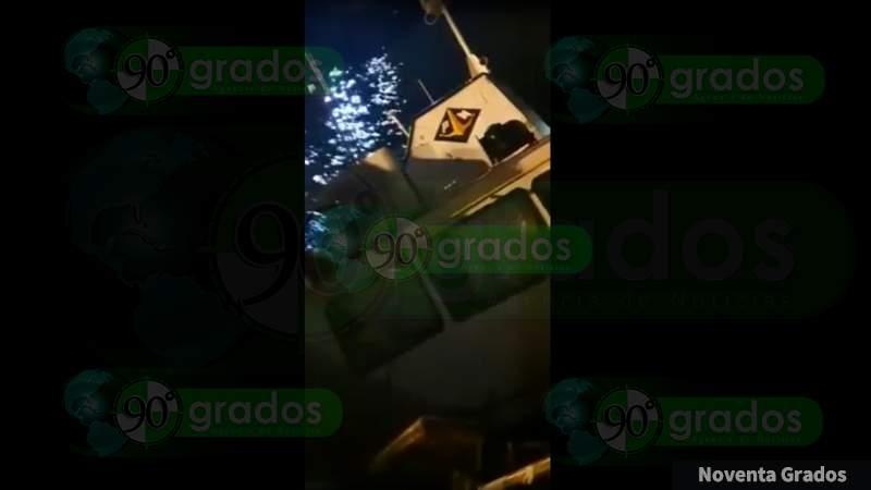 Se hunde embarcación de Pemex en muelle de Salinas Cruz, en Oaxaca