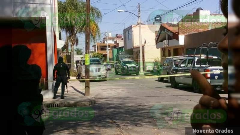Asesinan a un hombre en la colonia La Florida, Zamora