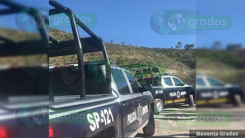 Una mujer muerta y un hombre herido tras ataque a balazos en brecha de Guanajuato, Guanajuato