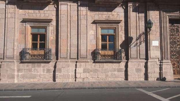Gerencia del Patrimonio Cultural de Morelia agiliza limpieza en edificios del Centro Histórico
