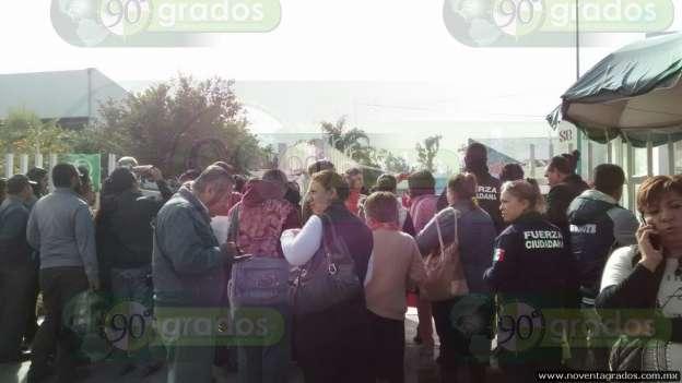 Manifestantes toman instalaciones de la Secretaría de Educación