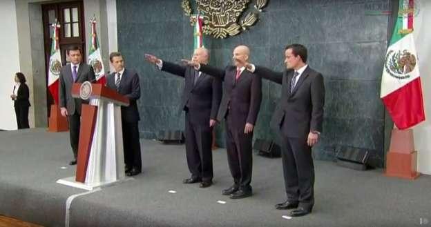 Anuncia EPN cambios en su Gabinete; José Narro Robles a la SSA y Antonio González Anaya a Pemex
