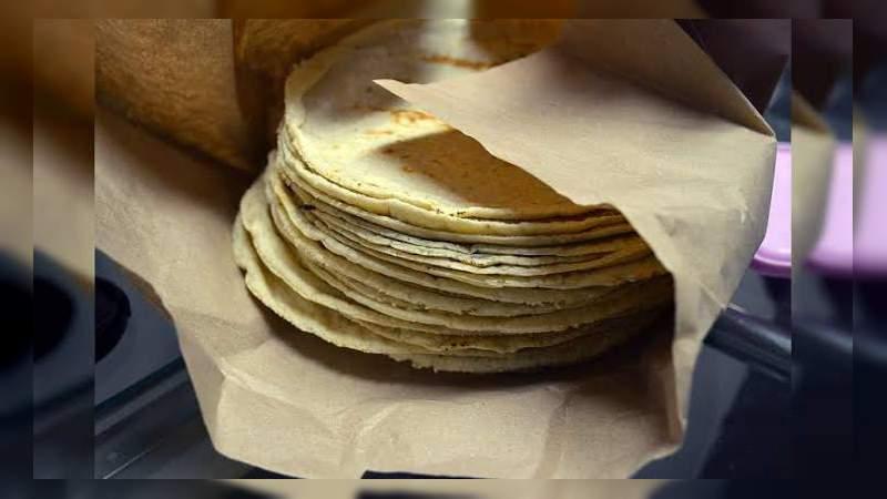 En Apatzingán aumenta precio del kilo de tortilla de 20 a 22 pesos